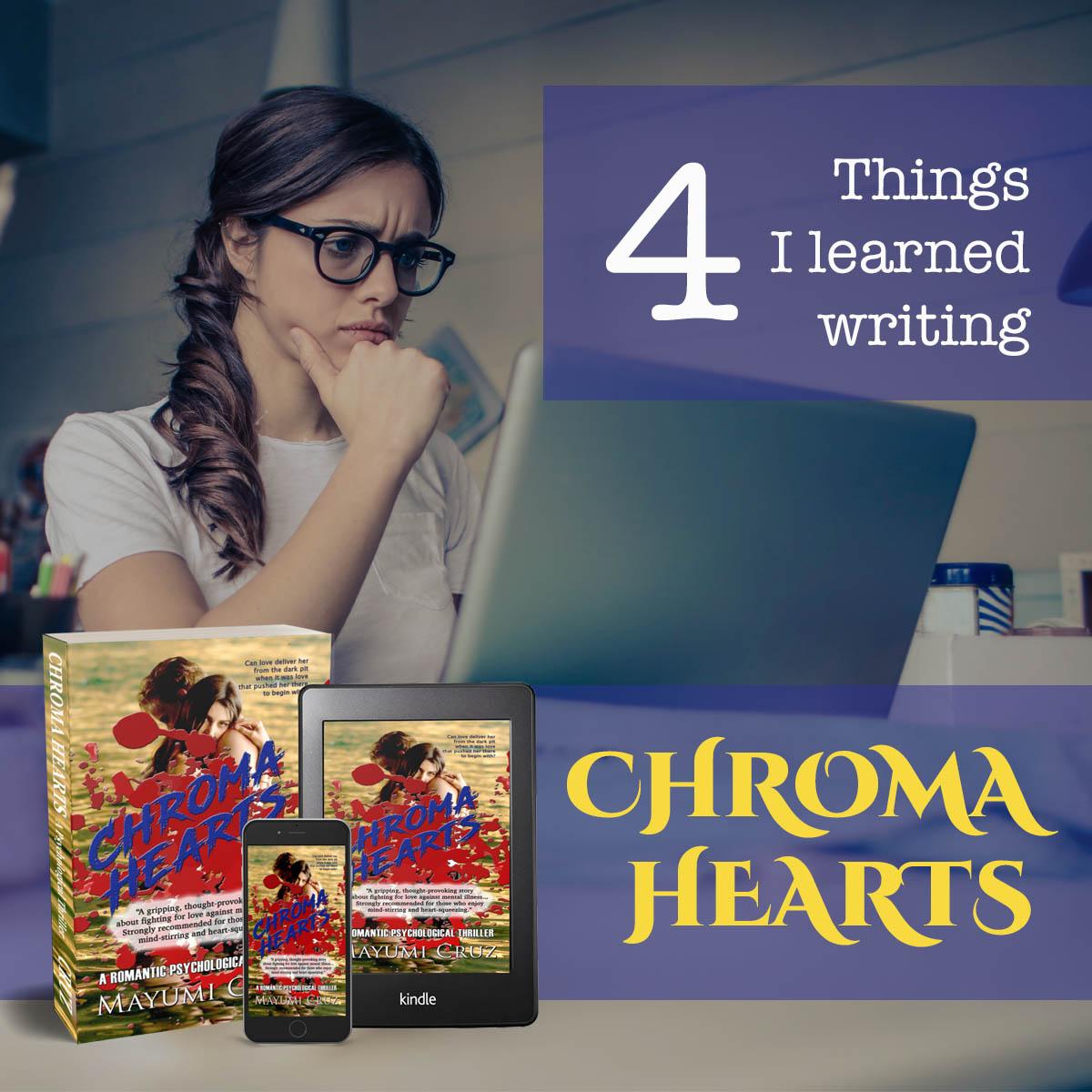 4 Major Things I Learned Writing CHROMA HEARTS