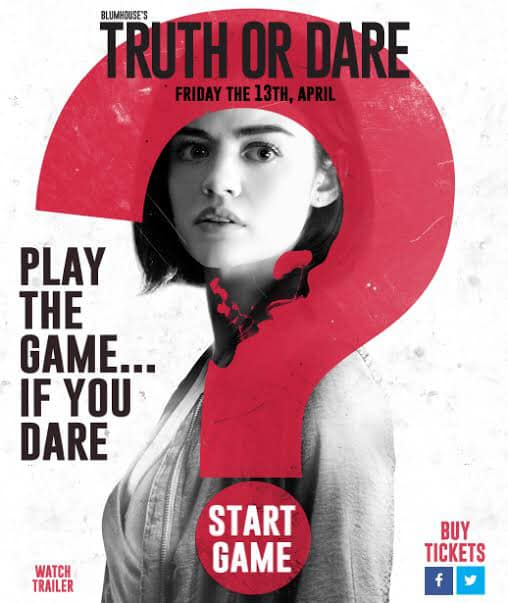 Movie Review Truth or Dare